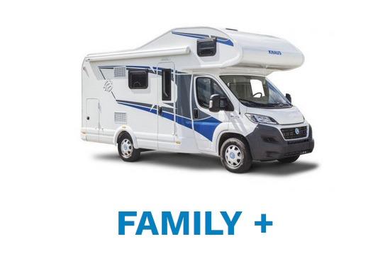Wohnmobil für die ganze Familie